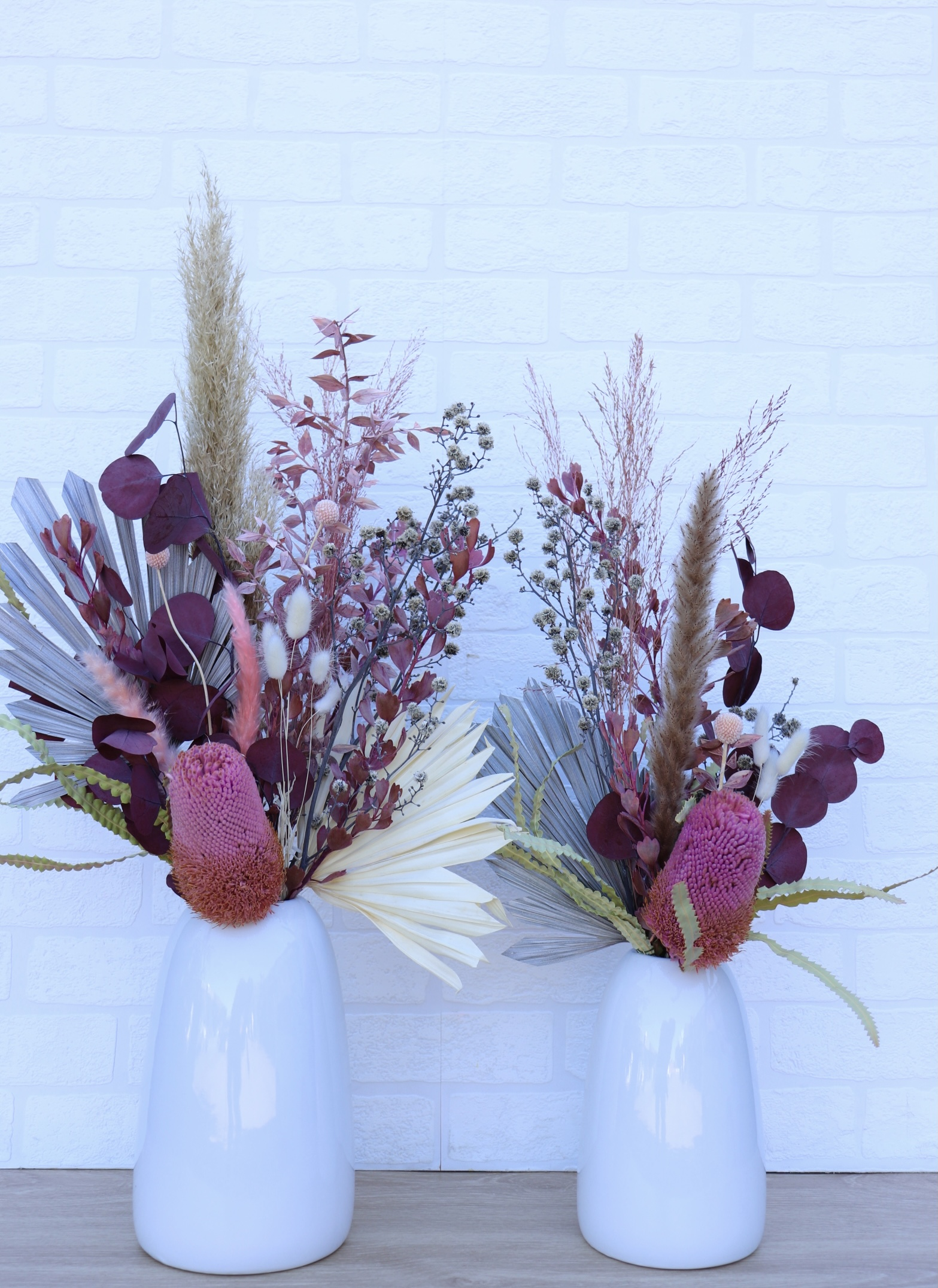 Boho Dried Arrangement pink